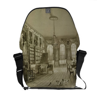 Library as Sitting Room, Cassiobury Park, c.1815, Courier Bag