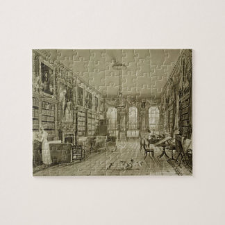 Library as Sitting Room, Cassiobury Park, c.1815, Jigsaw Puzzle
