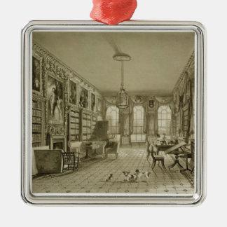 Library as Sitting Room, Cassiobury Park, c.1815, Metal Ornament