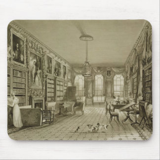 Library as Sitting Room, Cassiobury Park, c.1815, Mouse Pad