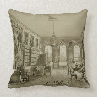 Library as Sitting Room, Cassiobury Park, c.1815, Pillow