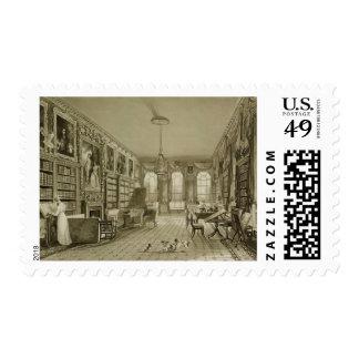 Library as Sitting Room, Cassiobury Park, c.1815, Postage
