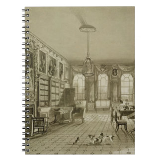 Library as Sitting Room, Cassiobury Park, c.1815, Spiral Notebook