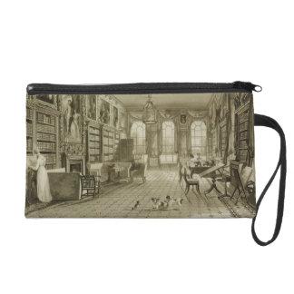 Library as Sitting Room, Cassiobury Park, c.1815, Wristlet Purse