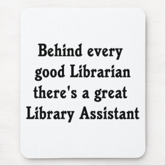 Library Assistant Mouse Pad