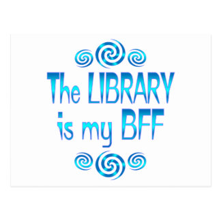 Library BFF Post Cards