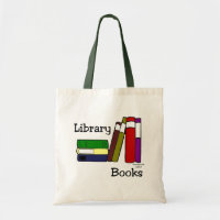 Library Book Bag bag
