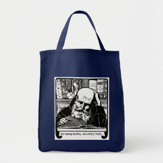 Library Book Bag in Several Styles