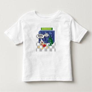 Library book chook joke toddler t-shirt