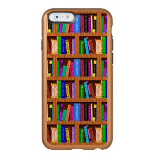 Library Book Shelf Pattern for Readers Incipio Feather Shine iPhone 6 Case