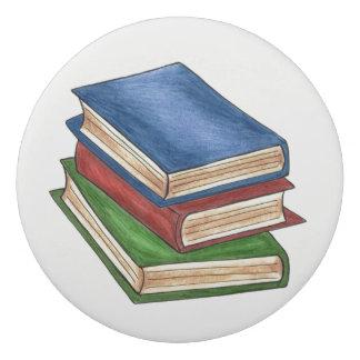 Library Book Stack Education School Teacher Gift Eraser