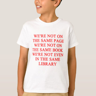 library book T-Shirt