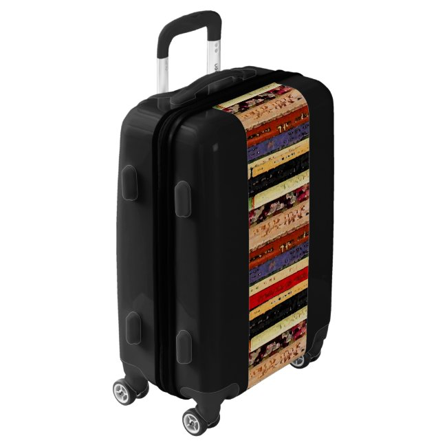 Library Books Abstract Luggage