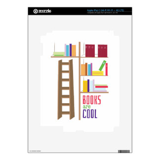 Library_Books_Are_Cool Skin For iPad 3