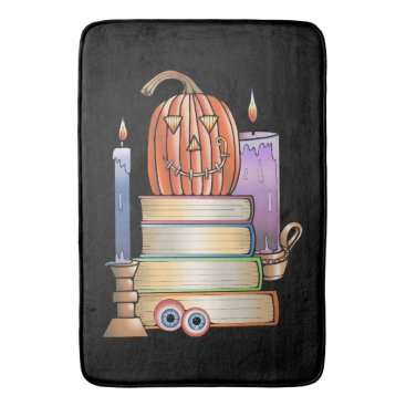 Library Books Bath Mat