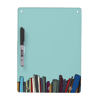 Library Books Dry-Erase Board