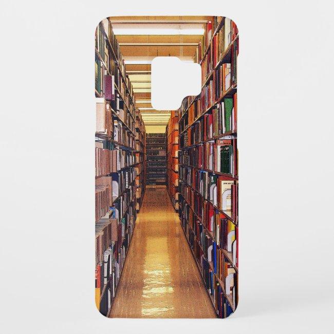 Library Books Galaxy S9 Case