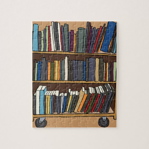 Library Books Jigsaw Puzzles