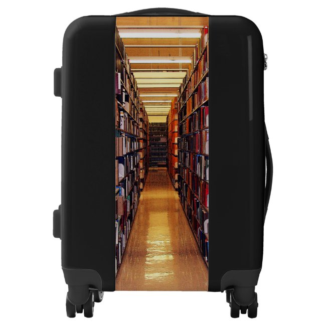 Library Books Luggage