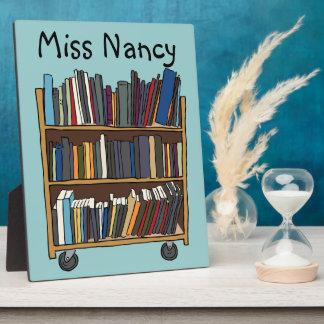 Library Books Plaque