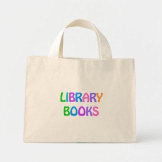 LIBRARY BOOKS Small Tote Bag