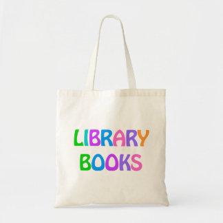 LIBRARY BOOKS Tote Bag