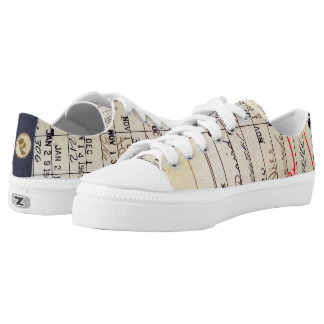 Library Card 23322 Low-Top Sneakers
