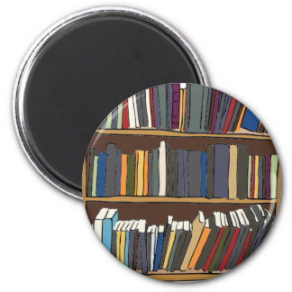 Library Cart Magnet