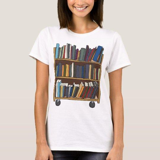Library Cart T-Shirt
