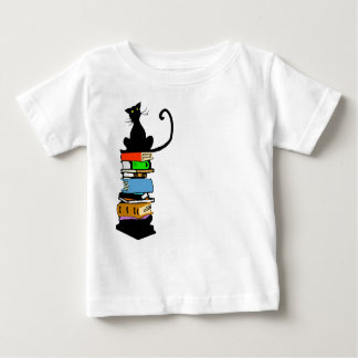 Library Cat Baby T-Shirt