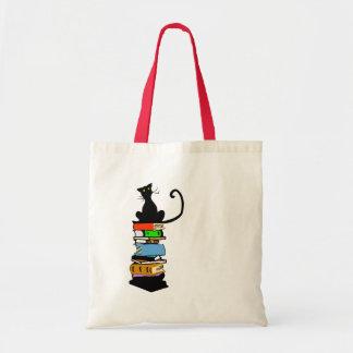 Library Cat Tote Bag
