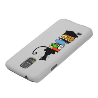 Library Cat Galaxy S5 Cases