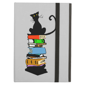 Library Cat Case For iPad Air