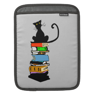 Library Cat, Personalized Sleeve For iPads