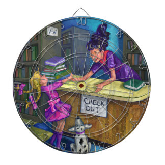 Library Check Out Dartboards