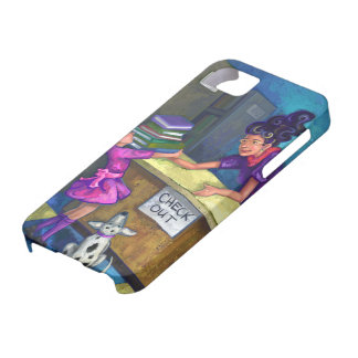 Library Check Out iPhone SE/5/5s Case