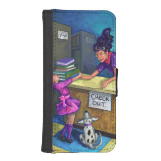 Library Check Out iPhone SE/5/5s Wallet