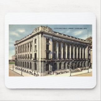 Library Cleveland Ohio c1934 Mousepads