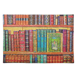 Library Cloth Placemat