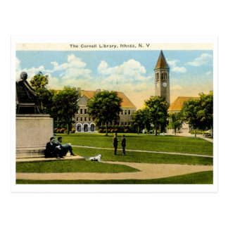 Library, Cornell, Ithaca NY 1926 Vintage Postcard