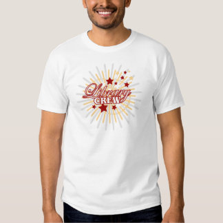 Library Crew T-shirt