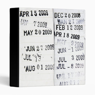 Library Date Stamp Binder