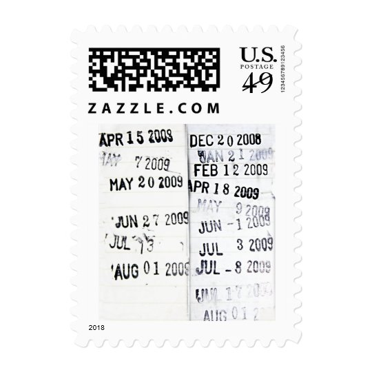 Library Date Stamp Stamps