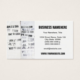 Library card business cards templates zazzle library date stamps business cards colourmoves