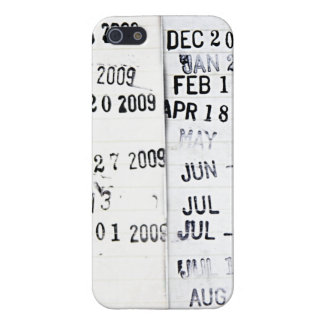 Library Date Stamps iPhone 5 Case