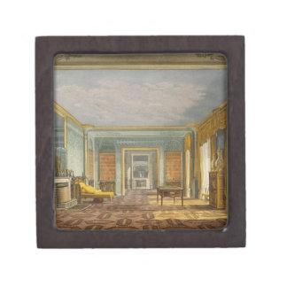 Library del rey de vistas del Pavilio real Cajas De Recuerdo De Calidad