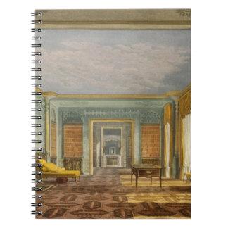 Library del rey de vistas del Pavilio real Libretas