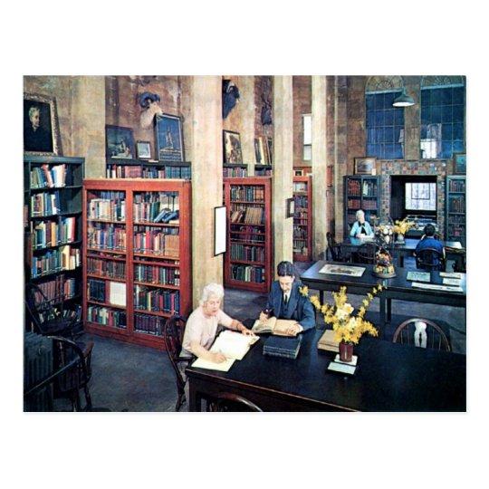 Library, Doylestown, PA Vintage Postcard
