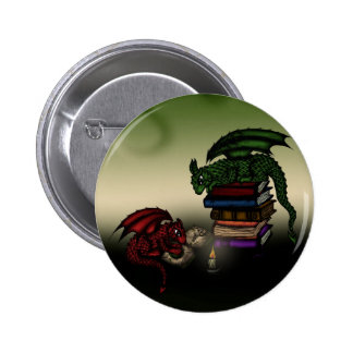 Library Dragons Button