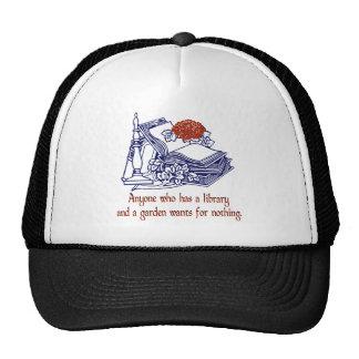 Library & Garden Trucker Hat